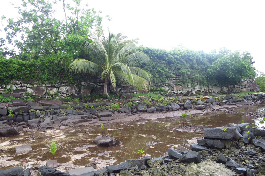 The structures of Nan madol