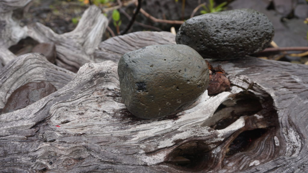 Mohl (stone used to pound the kava roots)
