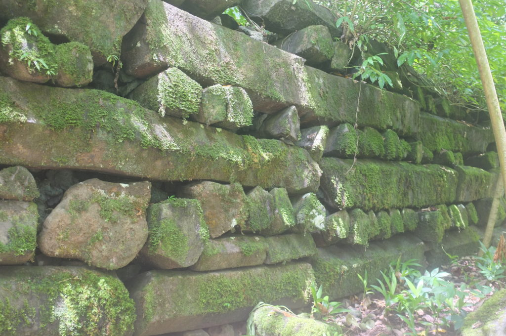 Some stone structures