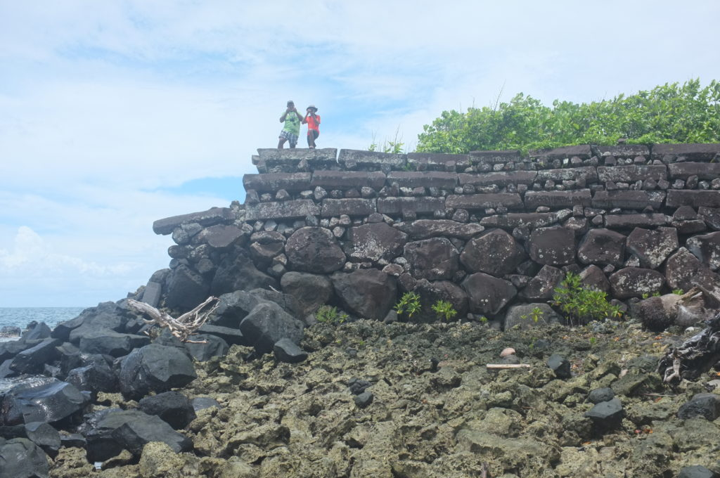 Sea wall of Nan Madol